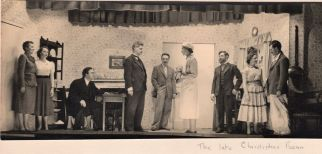 "Ryton 54 Drama Group. ""When We Are Married"" Taken some time between 1954 and 1960"