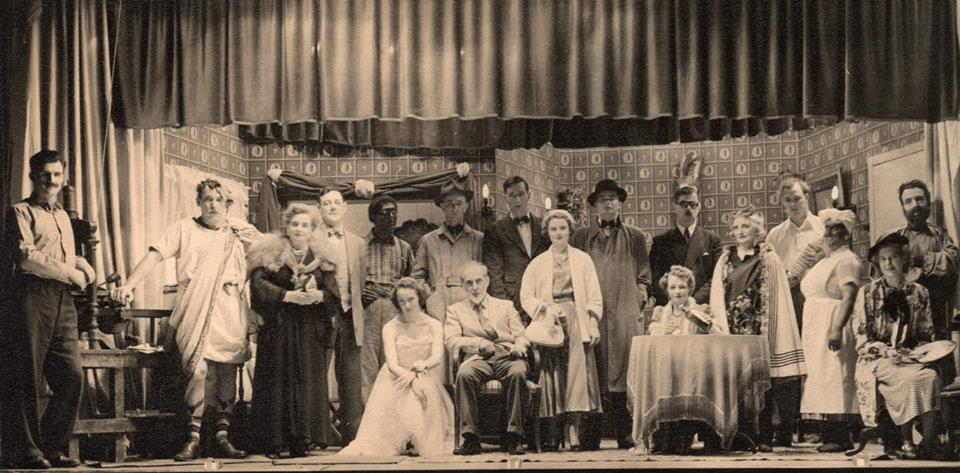 """Ryton 54 Drama Group. """"When We Are Married"""" Taken some time between 1954 and 1960"""