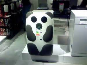 Singing panda fridge