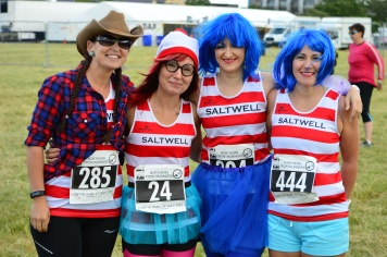 Ready for the charity run
