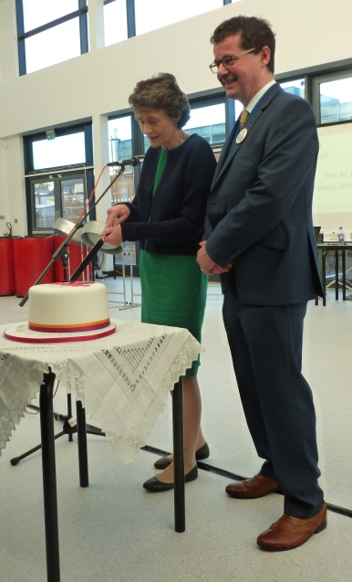 Baroness Morris of Yardley and Executive Principal Jonathan Morris
