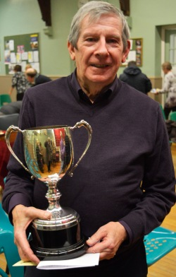 Brian Coulson winner of the Donald Beveridge Trophy