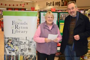 Gwen and John of Ryton Library