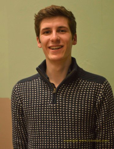 Alexander Akhurst from Southampton, currently studying at Durham Universtity. Special Award winner and Alexander also came first in Class 23, Aria from Oratorio or Sacred Work